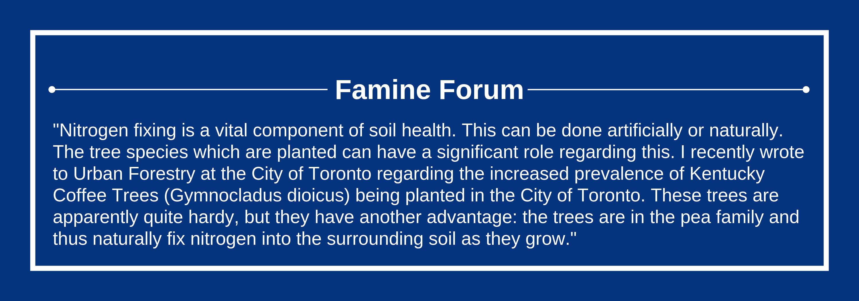 Famine Forum