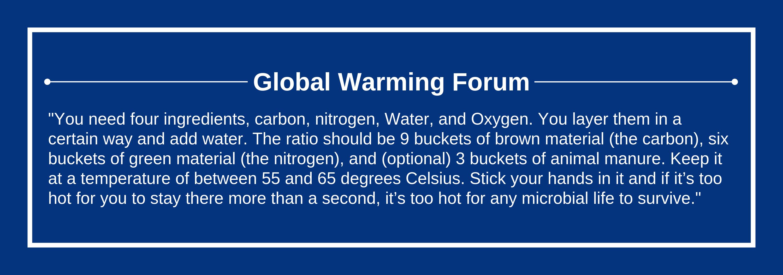 Global Warming Forum